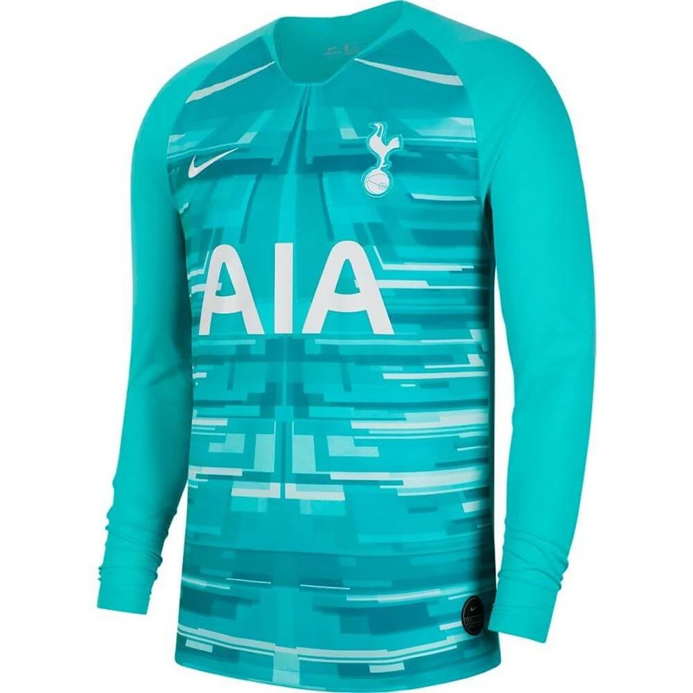 Tottenham Hotspur 19 20 Home Goalkeeper Long Sleeve Jersey Personalized Name And Number Tottenham Hotspur Long Sleeve Jersey Tottenham
