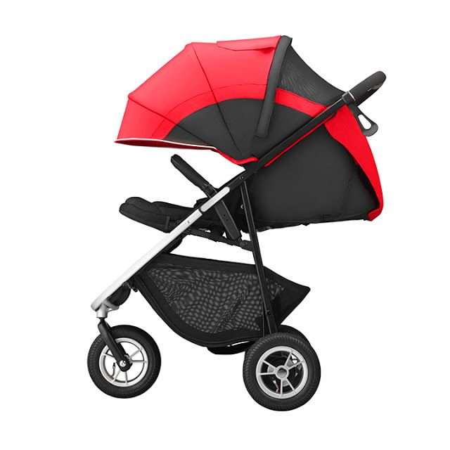 New For 2015 - Aprica Smoove 3-Wheel Stroller | snugggles ...