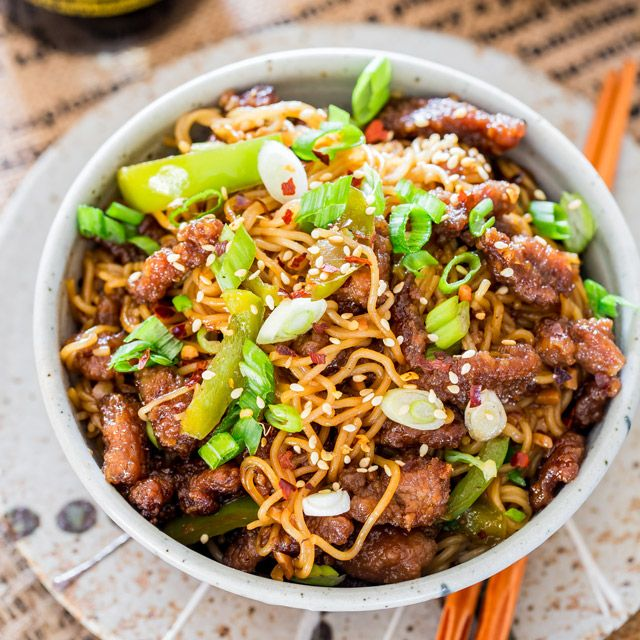 Instant Pot Mongolian Beef Ramen Hearty And Wholesome In 25
