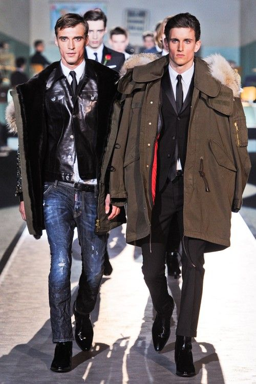 Canadian Twin Designers Dsquared 2012 2013 Menswear Menswear Fashion Mens Outfits