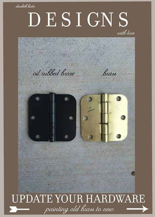 Spray Versus Paint Brass Door Knobs and Hardware Two Easy Projects ...