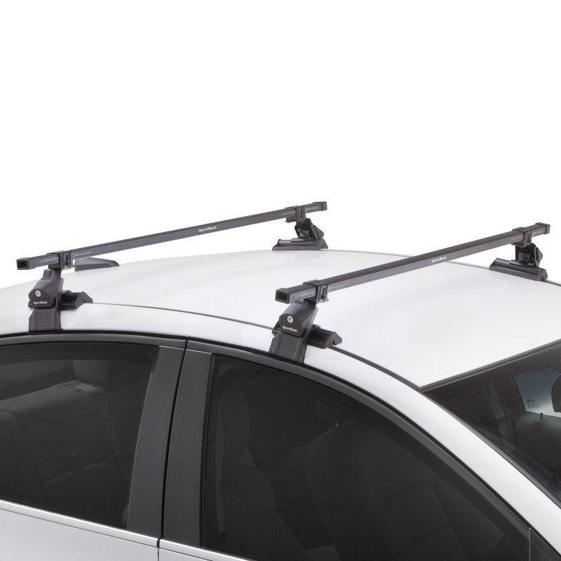 Sportrack Sr1010 Complete Roof Rack System With 9 In Strap Kit Sr1010