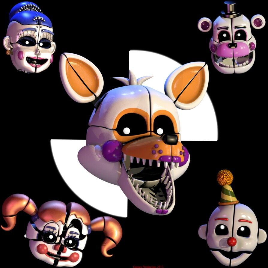 Lolbit Please Stand By! Fnaf Sister Location Custom Night