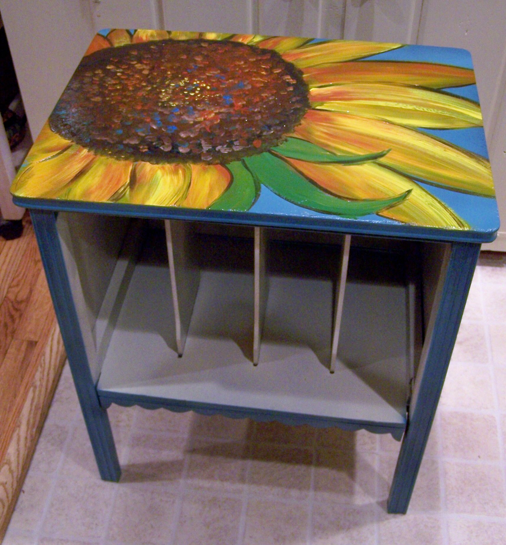 Table Painting Designs Pinterest Painting Furniture Ideas Experimenting