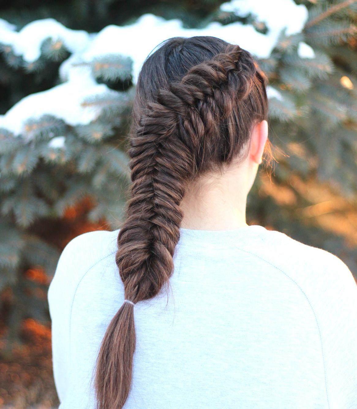 Dutch fishtail hannahhairstyles on instagram hannah hairstyles