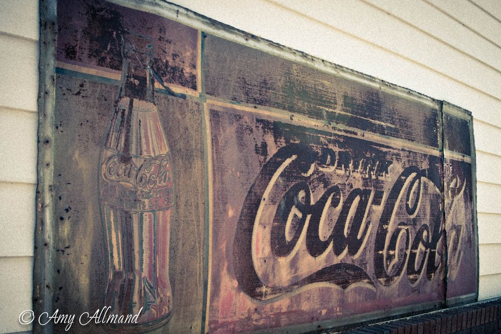 Rusty Coke Sign | by Southern Bella Images