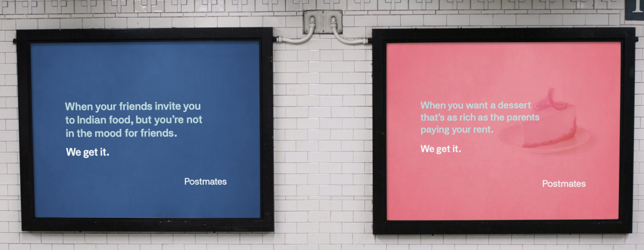postmates outdoor campaigns Google Search (With images