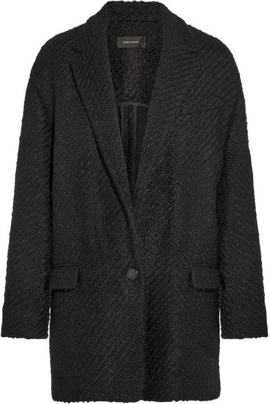 2aed56f8d82 ISABEL MARANT Ilaria Oversized Wool-Blend Bouclé-Tweed Jacket. #isabelmarant  #cloth #jackets