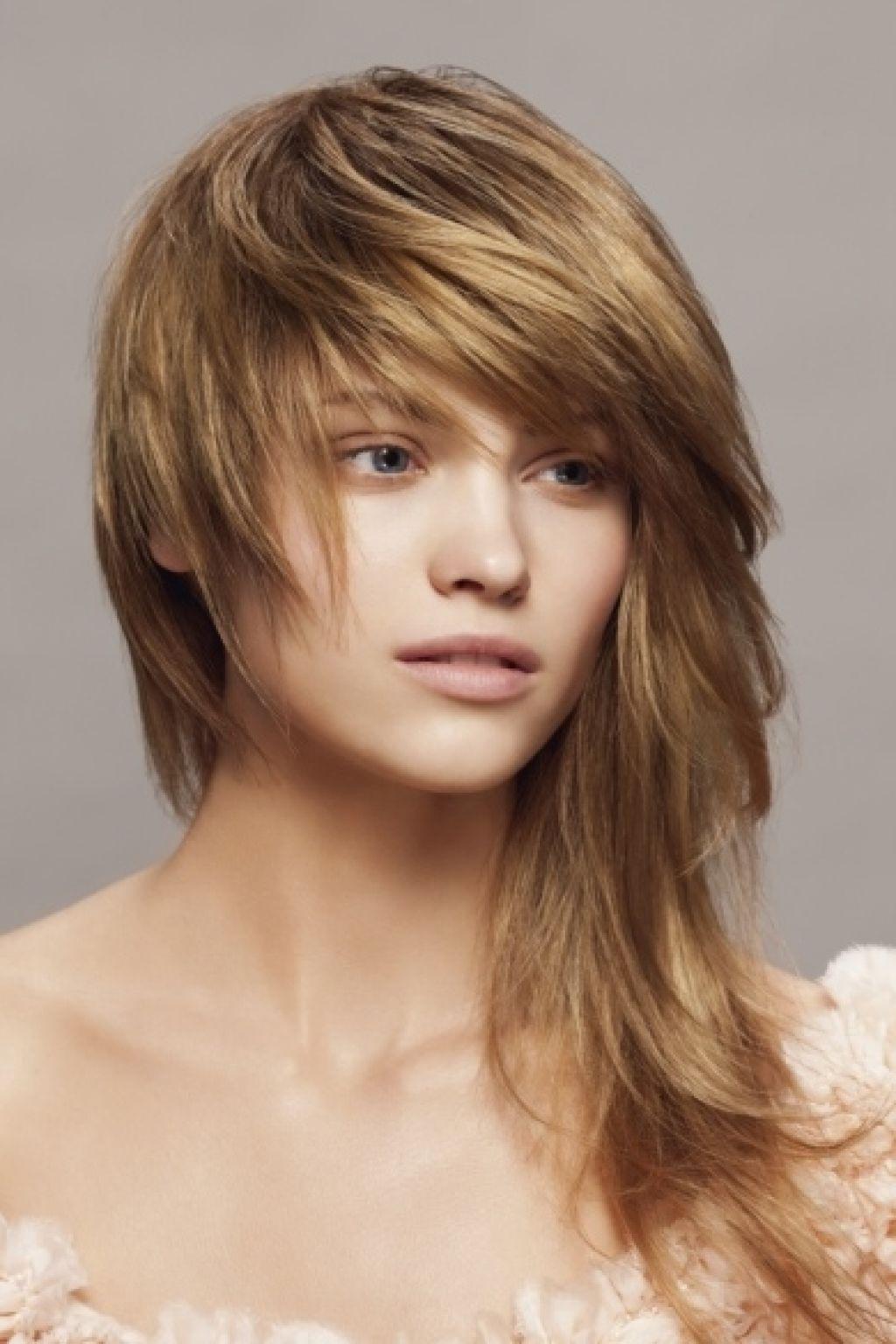 Asymmetrical Long Hairstyles Asymmetrical Haircut Long Popular