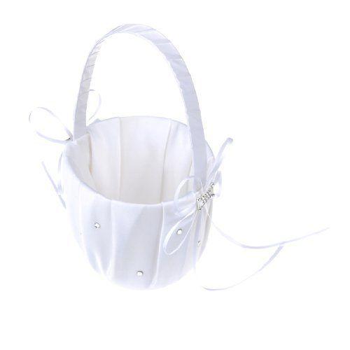 Artwedding Rhinestone and Crystal Flower Basket for Wedding, White by Artwedding, http://www.amazon.com/dp/B006XAUWWW/ref=cm_sw_r_pi_dp_tt6Orb1W11R4B