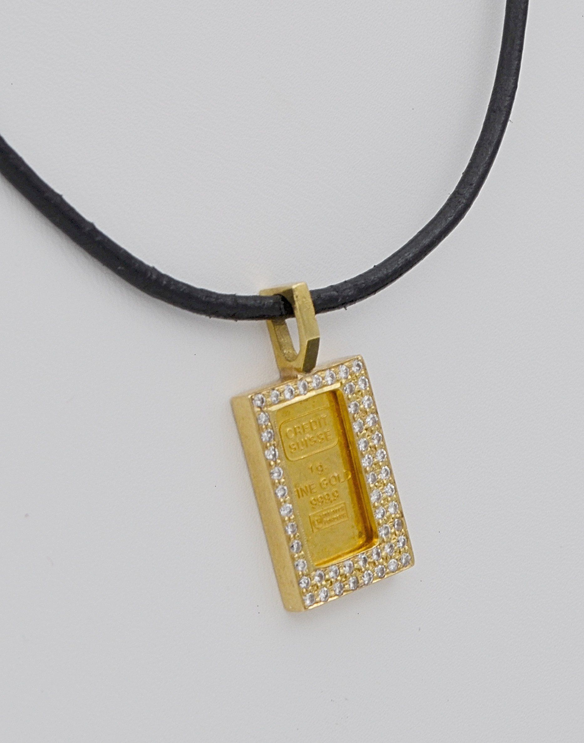 Pin On Gold Bar Pendant