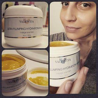 #Review of #ValentiaUltraPlumpingHydrationMask! #GotItFree #Sponsored #BBlogger #BeautyBlogger #Skincare #CrueltyFree #Vegan #Organic #Natural #FacialCare #FaceMask #Plumping #Hydrating #Moisturizing #CoQ10 #HyaluronicAcid #SeaBuckthornOil #GreenTea #AloeVera #Antioxidants #ReduceWrinkles #Botanical #VitaminE #Influencer #Tomoson #TomosonReviews