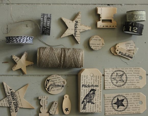 buch etiketten inspirationen gift wrapping book. Black Bedroom Furniture Sets. Home Design Ideas