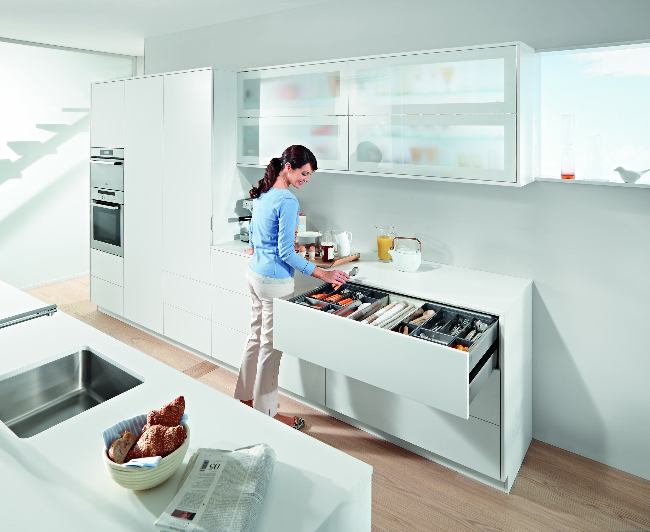 blum wide kitchen drawer unit kitchens bathrooms pinterest
