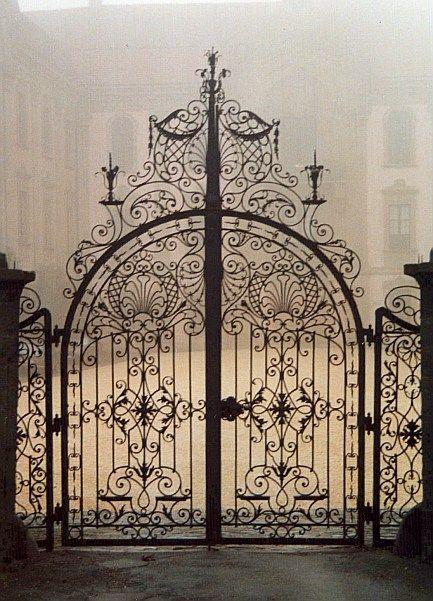 Nordicsublime Www Hotel Platengarten De Wrought Iron Gates Gate Design Old Gates