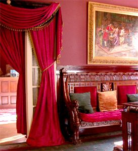 Victorian Portieres Or Door Curtains Are A Centuries Old Design