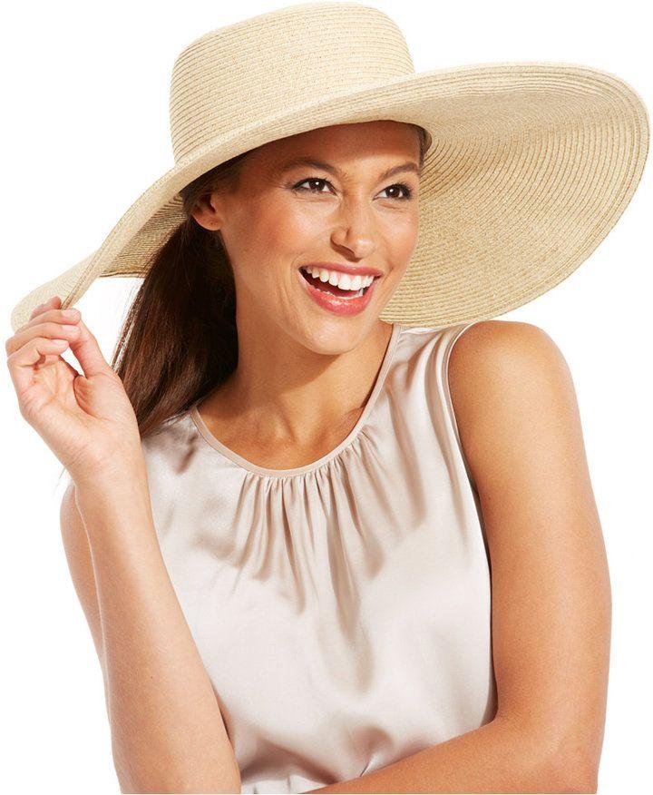 fc3bdfe74e62e5 Nine West Packable Super Floppy Hat on shopstyle.com | Beatuful Hats ...