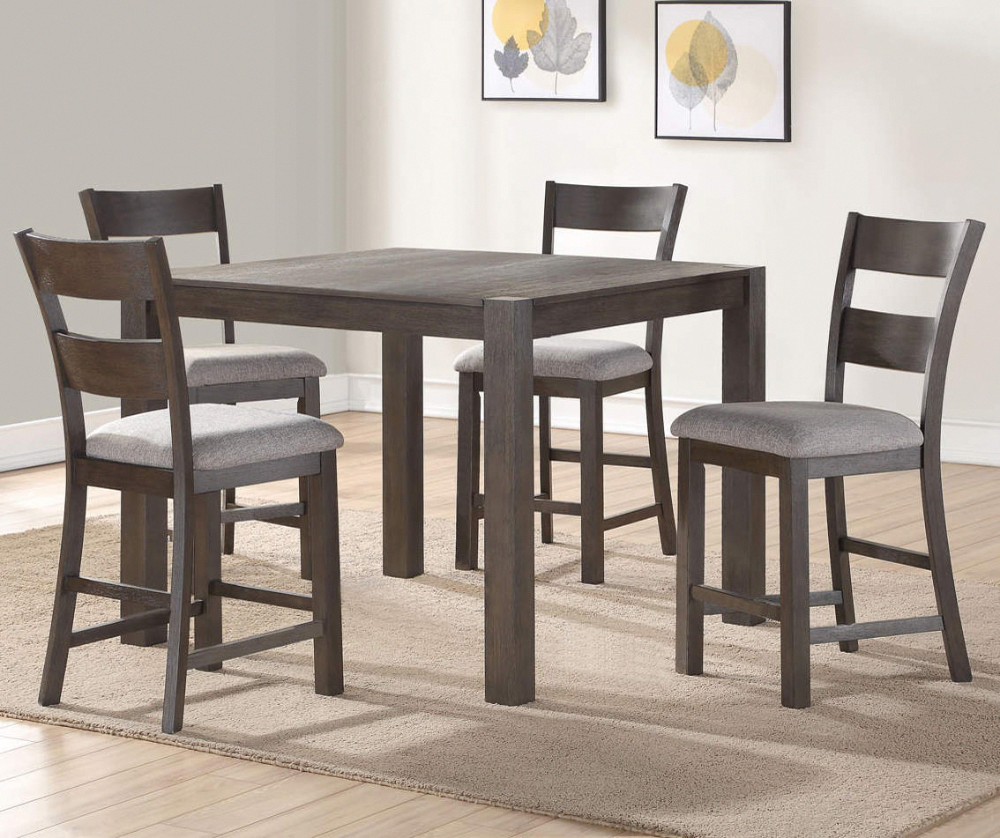 Stratford Hayden Brown 5 Piece Pub Set Big Lots In 2020 High Dining Table Set Dining Table In Kitchen Big Lots Furniture