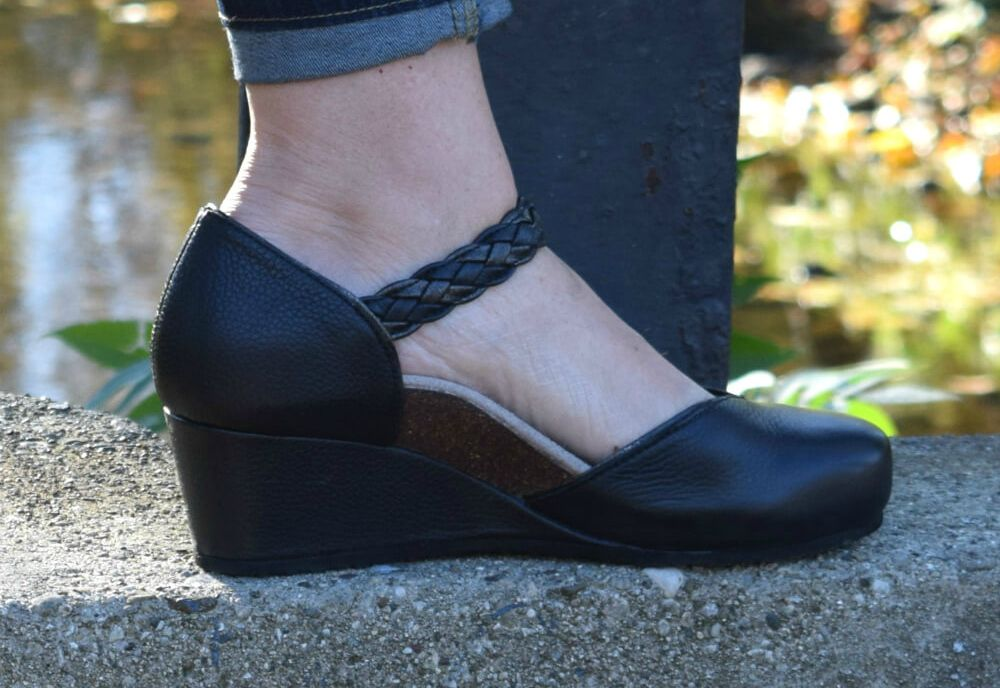 a44b36a11da0 This adorable mary jane wedge shoe is full of foot-cradling comfort  features! Check out our review of the Aetrex Shoes