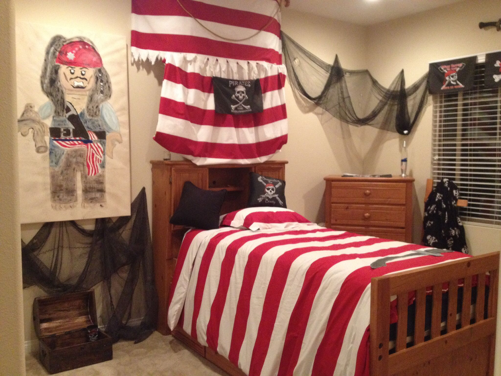 My Sons Lego Pirate Room Boy Room Pirate Room Room