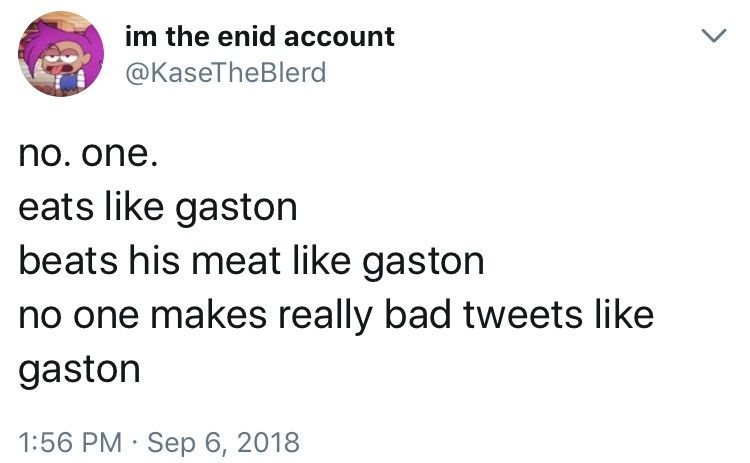 Twitter Is Having A Field Day With These Gaston Song Remixes Wat