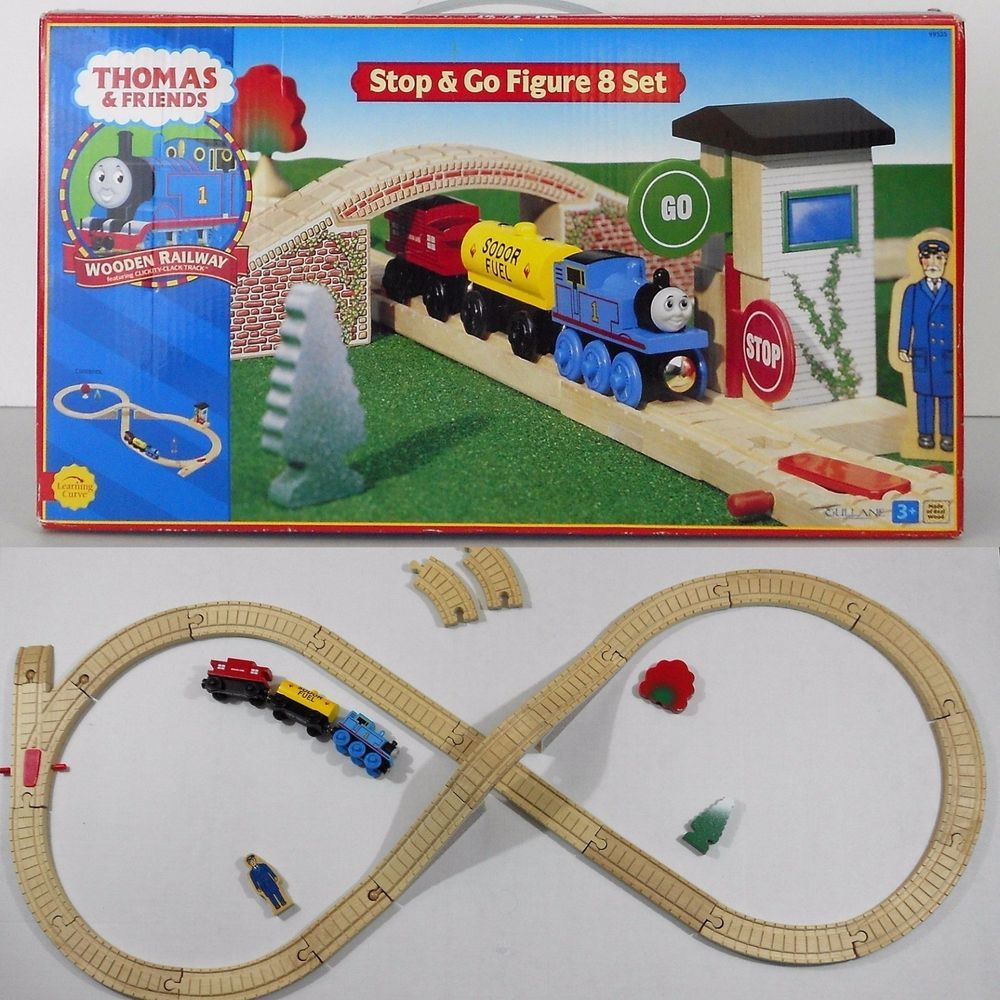Thomas Friends Figure 8 Wooden Track Railway Set Learning Curve 99525 2001 Thomas And Friends Figure 8 Cool Things To Buy