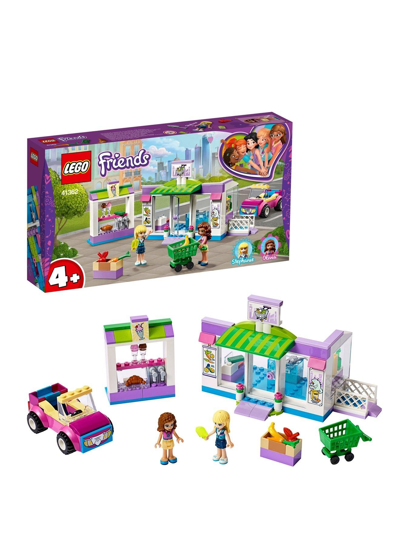 Lego Friends Heartlake City Supermarket In One Colour Lego Friends Lego Building Toys