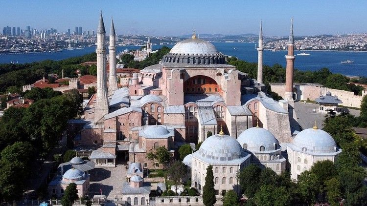Turkey Turns Iconic Istanbul Museum Into Mosque Bbc News
