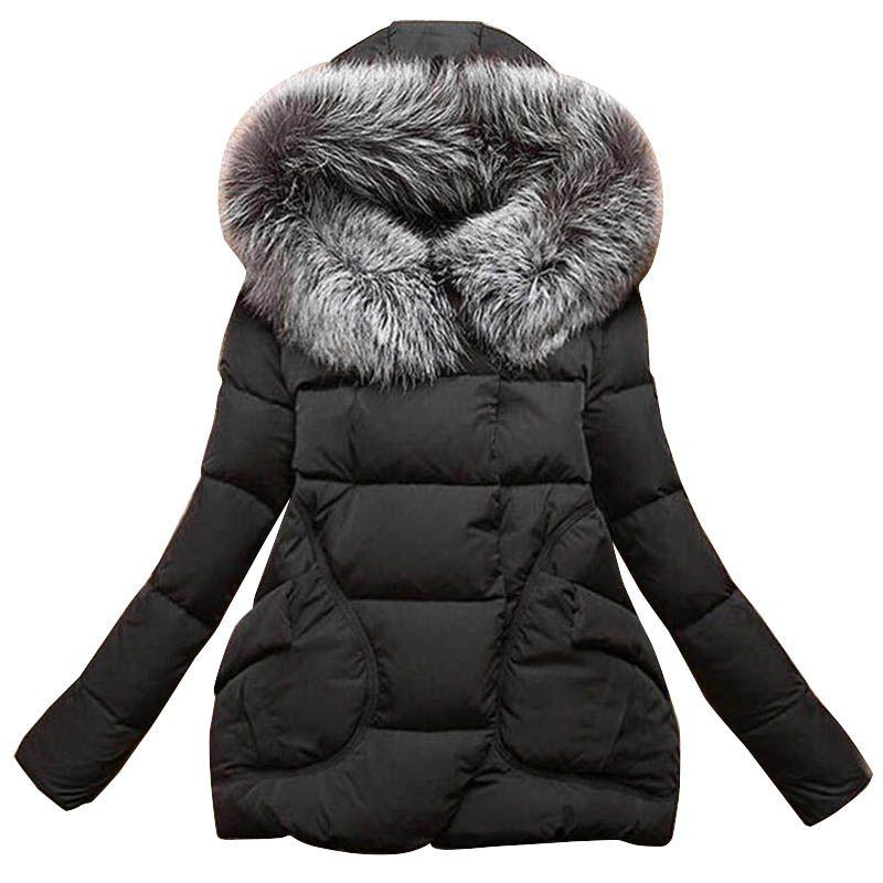 Nuovo Inverno 2017 Delle Donne Giacche di Cotone Manicotto Pieno button Coperto con Cappello con Piume pocketswomen Ultra Giacca Leggera Giù A023