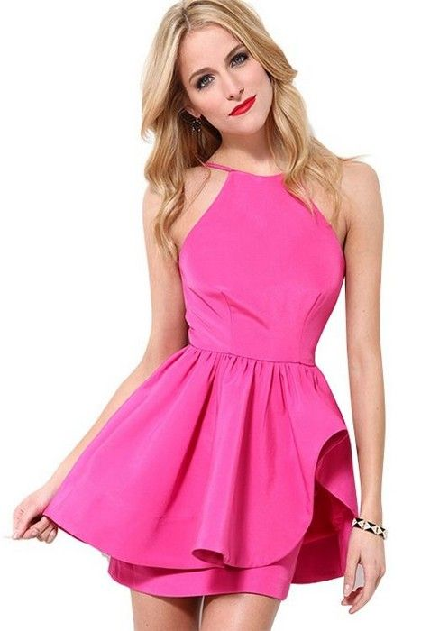 Hot Pink! Glamsugar.com Hot dress  0e1222b97