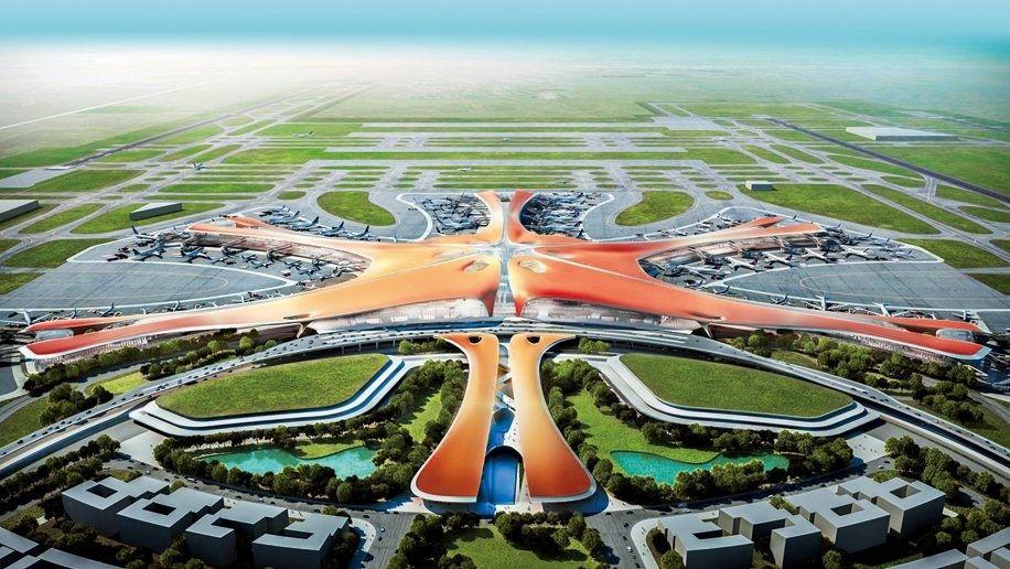 El nuevo Aeropuerto de Beijing