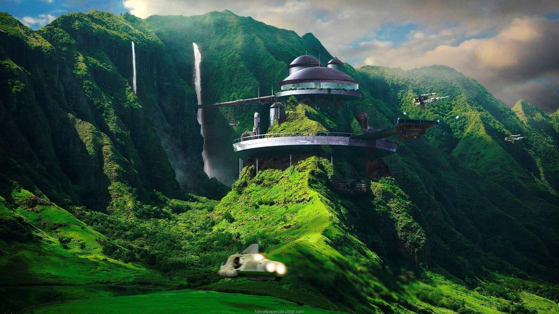 Full Hd Wallpapers 1080p In 2020 Fantasy Landscape Futuristic Architecture Futuristic City