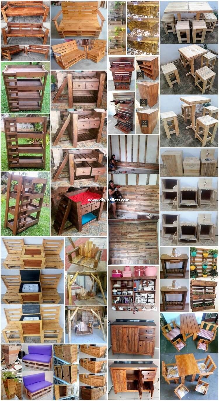 Diy Projects Made With Repurposed Wood Pallets Pallet