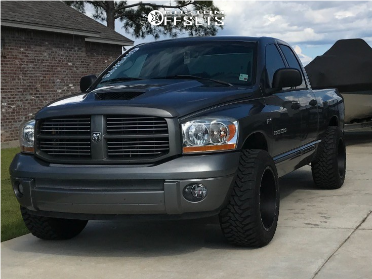 2006 Dodge Ram 1500 Red Dirt Road Dirt Maxtrac Leveling