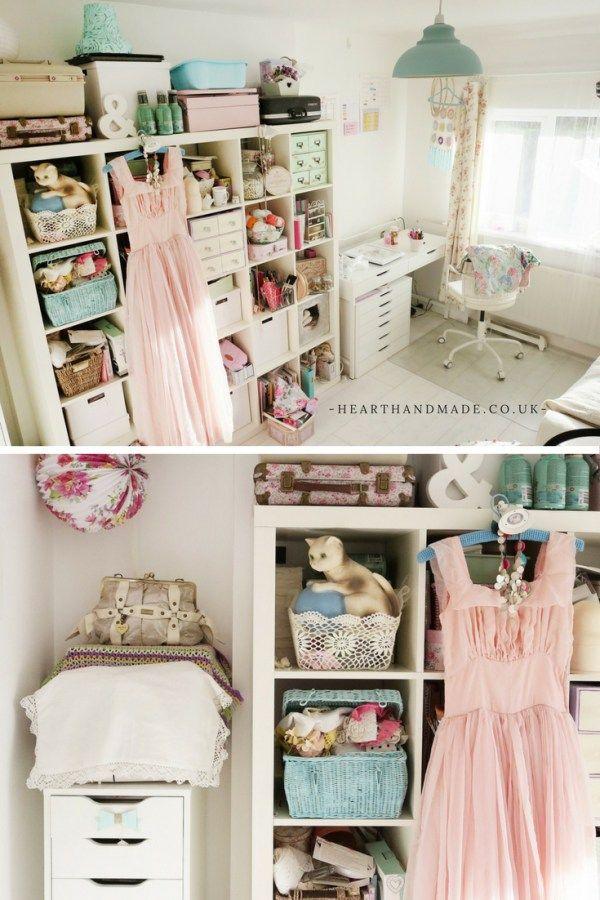 The Heart Handmade UK Craft Room
