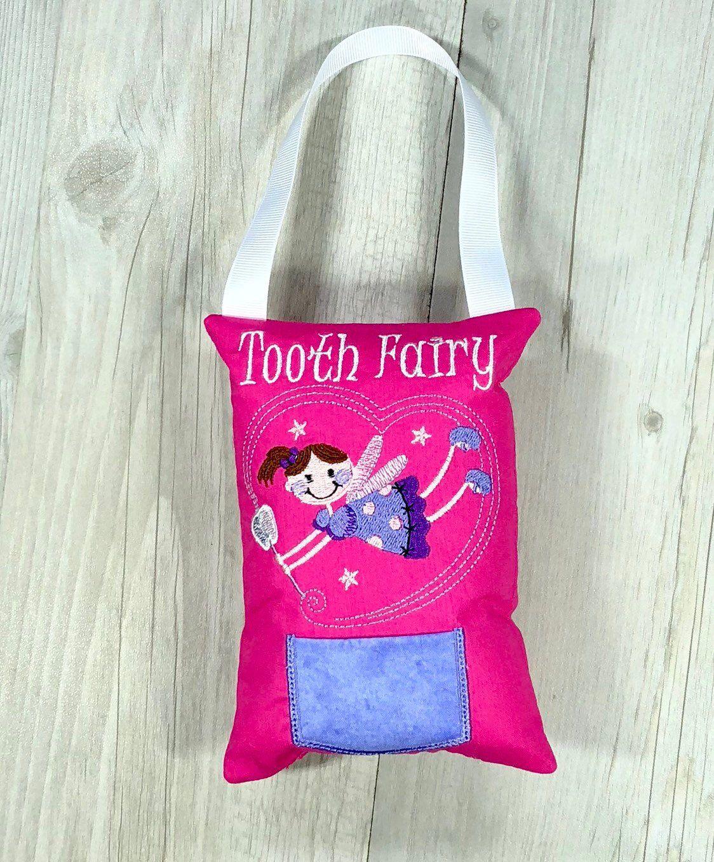 Baby Keepsakes Tooth Fairy Pillow Birthday Gift Keepsake Tooth Pocket Cushion