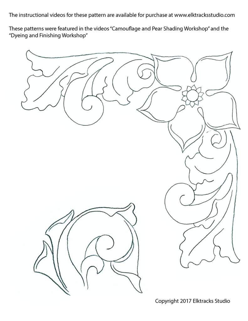 10+ Printable free leather patterns ideas