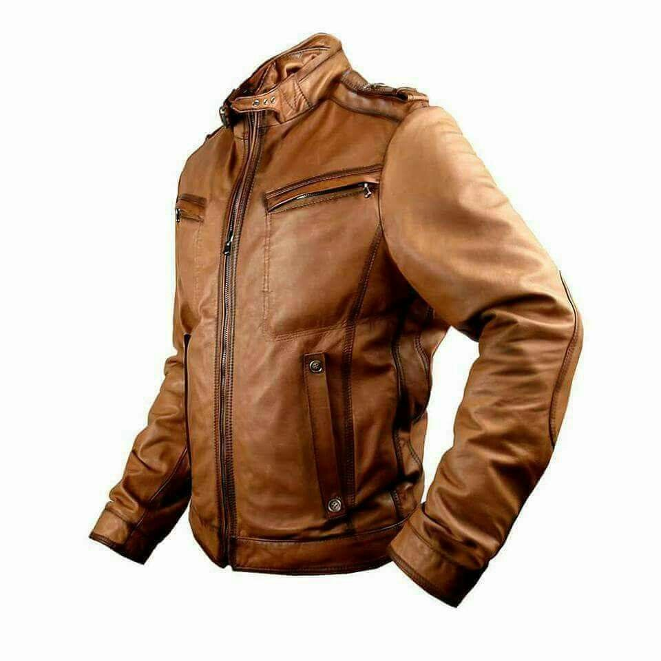 This Jacket Is Made Exactly As Original A Grade Leather It Has Been Painstaking To Design And Manufactur Designer Clothes For Men Vintage Biker Jacket Jackets [ 960 x 960 Pixel ]