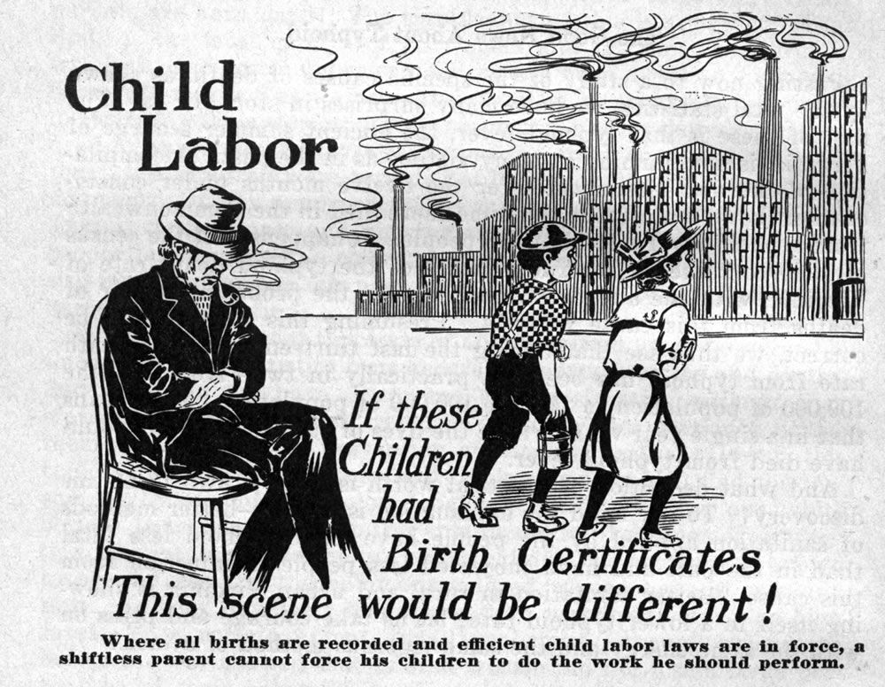 Child Labor Appeared After Several Child Labor Laws Were Passed