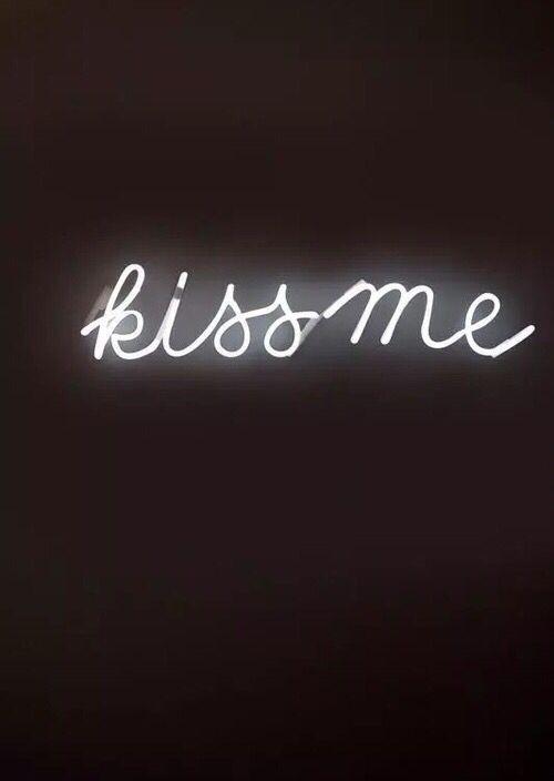 Kiss Me Led Sign Signs Hue