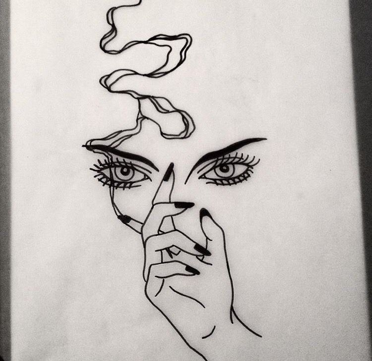 This But Instead It S Audrey S Eyes And Her Long Cigarette Line