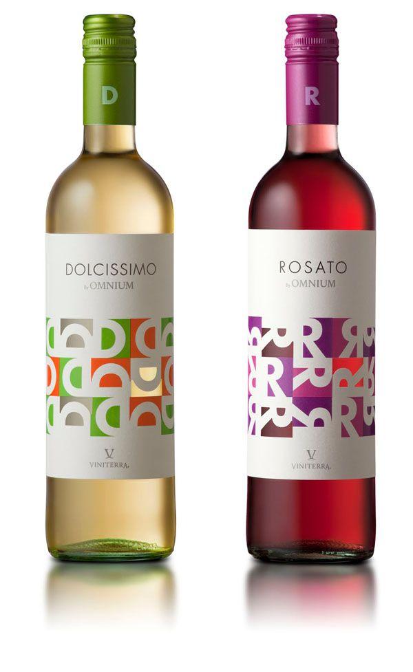 Dolcissimo y Rosato, wine packaging design. PD #taninotanino #vinosmaximum