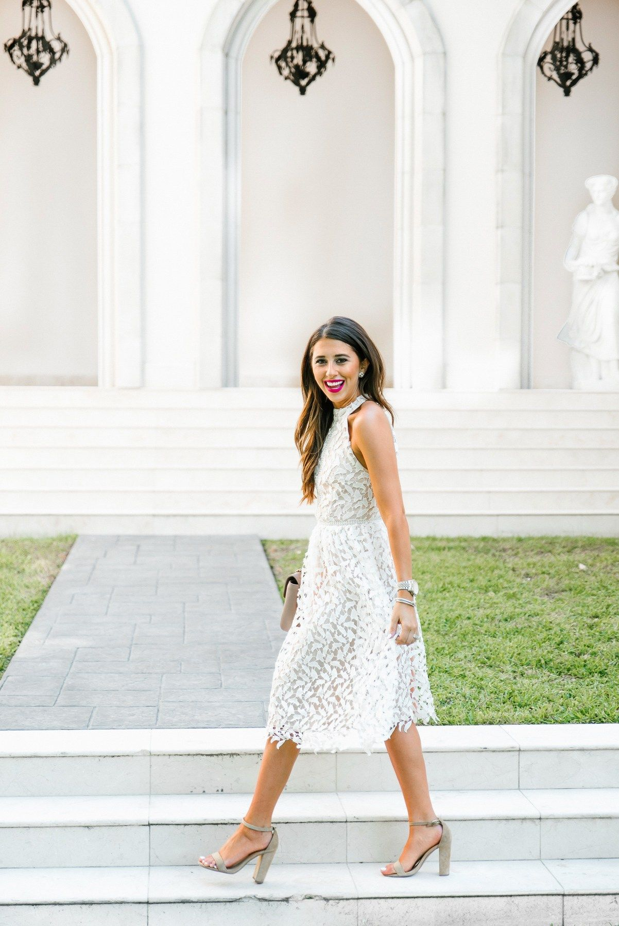 Dress Up Buttercup Houston Blogger Dede Raad For The Bride To Be Shower Dress For Bride Bridal Shower Attire Bridal Shower Dress [ 1800 x 1202 Pixel ]