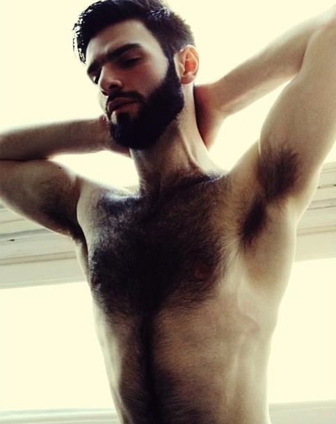 Trashy men nude bikini models licking