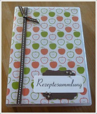 Kreatives aus Papier Stampin Up Rezeptebox Geschenkbox