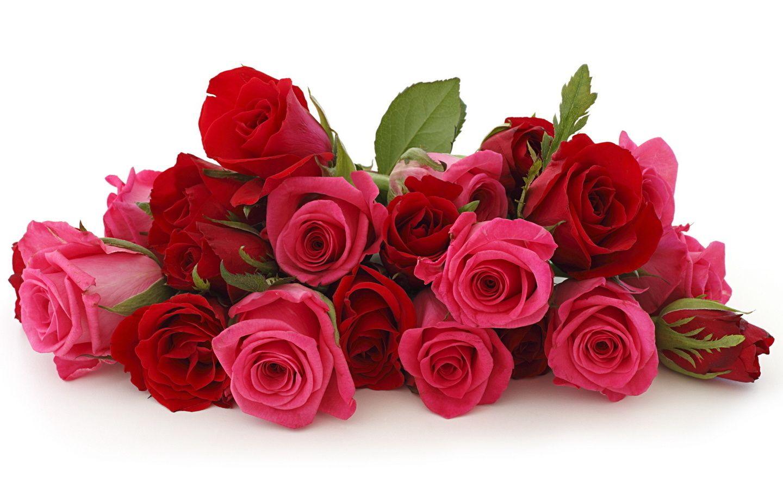 Wallpapers Ramo De Flores Rojas Y Rosas Grandes 1440x900 327438 Ramo De Flores Flowers Bouquet Red Rose Bouquet Flowers
