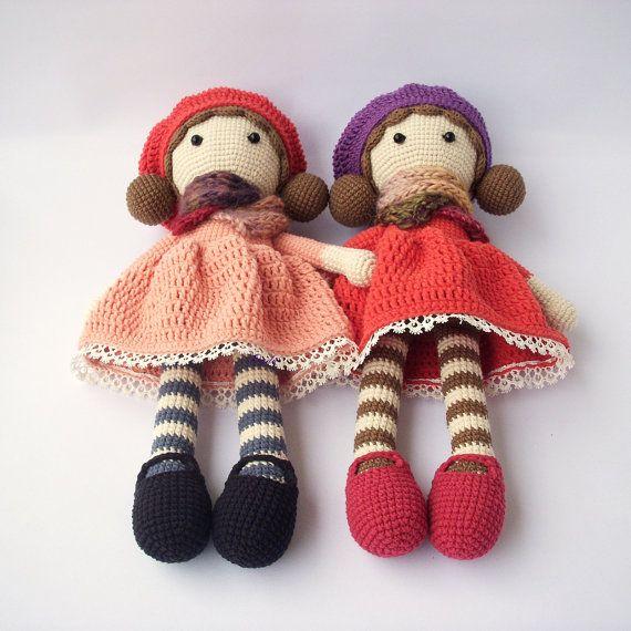 PDF Crochet doll Aria, crochet doll, Crochet Pattern - Doll Crochet ...