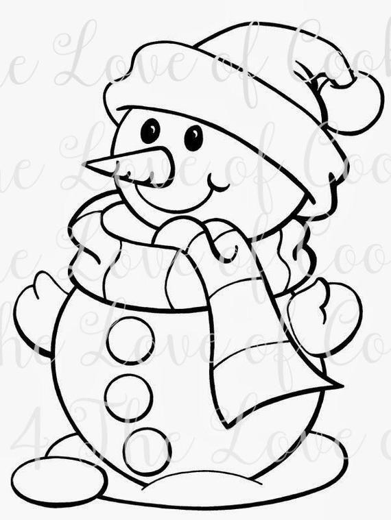 PYO Christmas silk screen stencil, Snowman Silk Screen