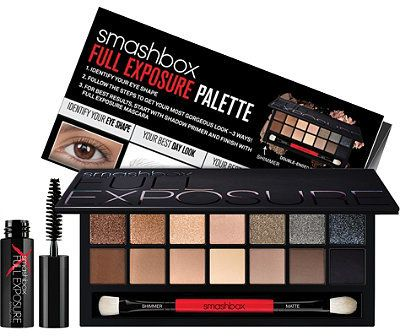 Smashbox Full Exposure Palette.. 14 must-have neutral shades - from nudes to blacks, long-wearing shimmers to velvety-smooth mattes.