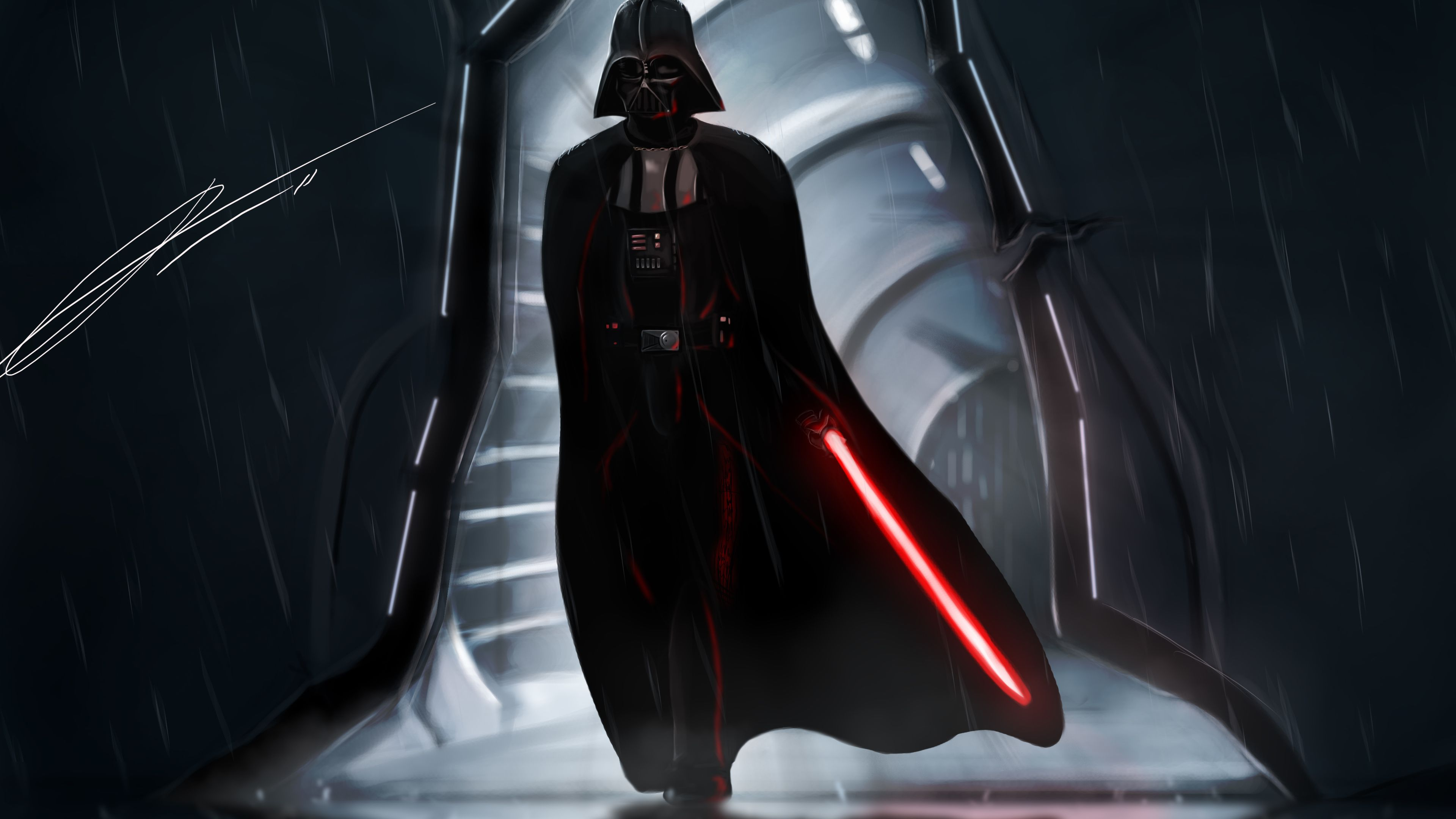 Lord Vader 4k Star Wars Wallpapers Hd Wallpapers Digital Art Wallpapers Deviantart Wallpapers Darth V Star Wars Wallpaper Star Wars Artwork Vader Star Wars
